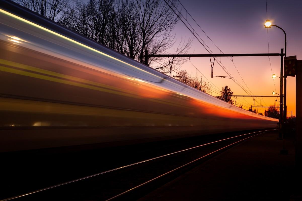 Gladheid op het spoor
